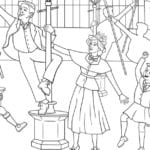 Mary Poppins Light Fantastic Coloring Page