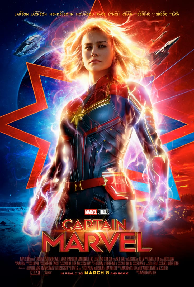Captain Marvel Trailer and Poster