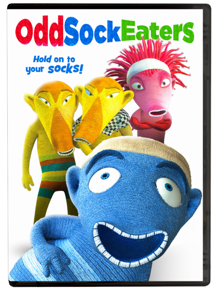 OddSockEaters DVD - Hold On To Your Socks! Animated Children's movie