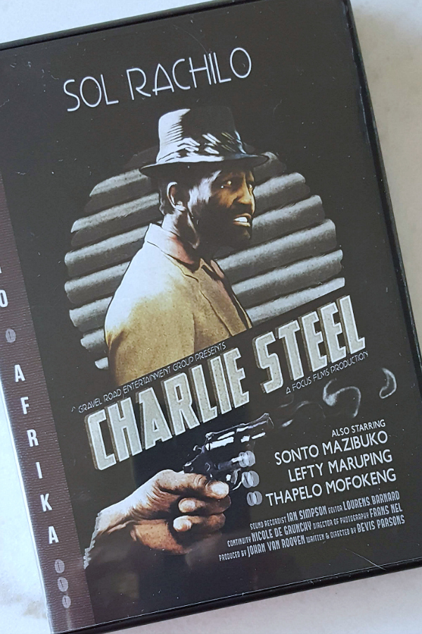 Retro Afrika Charlie Steel DVD starring Sol Rachilo - B-movie fans can get ready to be entertained, since Charlie Steel is now being released on DVD and digital as part of the Retro Afrika series from South Africa.