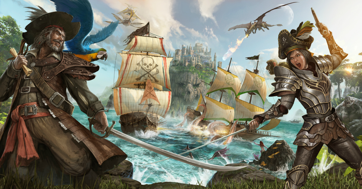 xbox atlas pirate mmo game