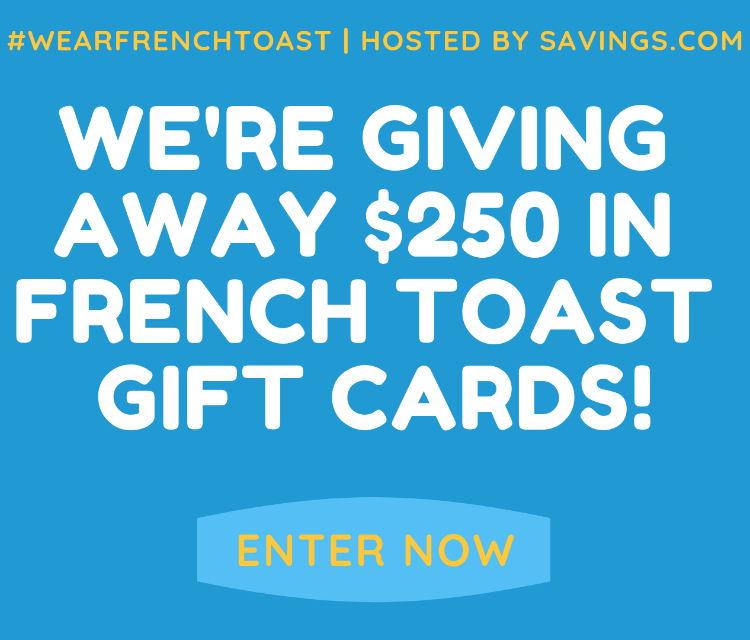 2 french toast gift card giveaway