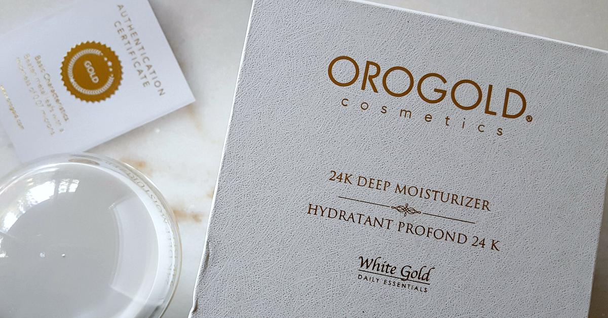 blushcon orogold moisturizer