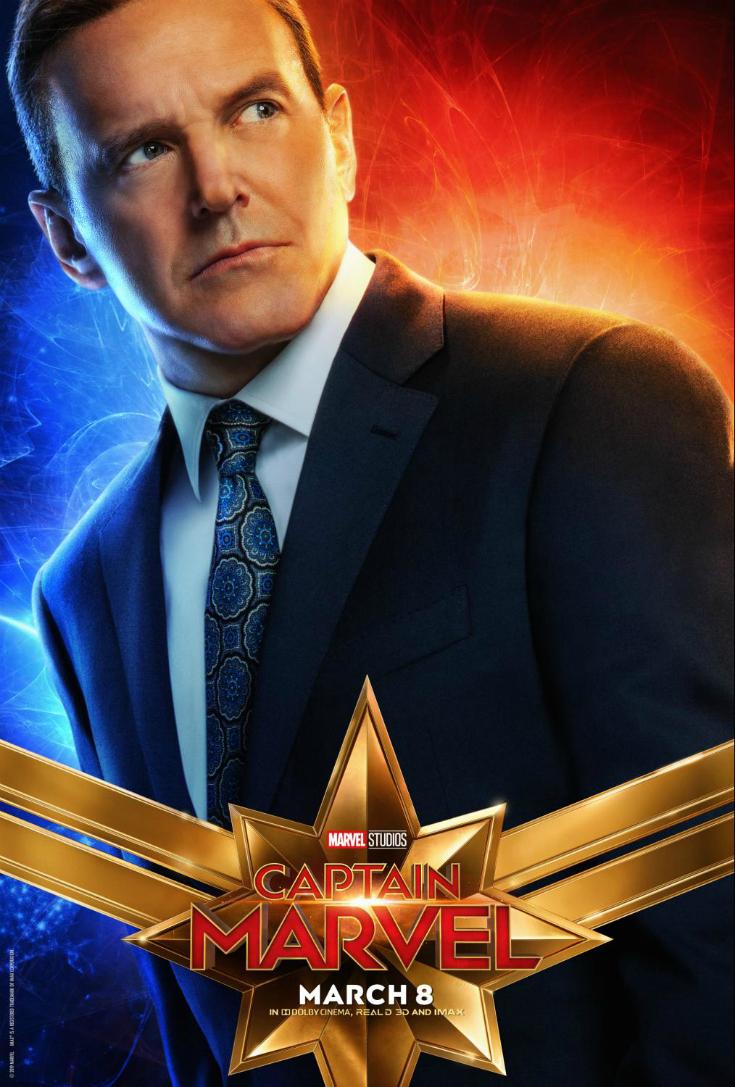 captain marvel Clark Gregg