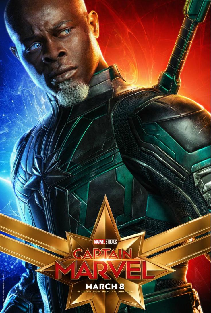 captain marvel Djimon Hounsou