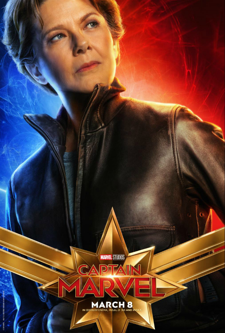 captain marvel annette bening