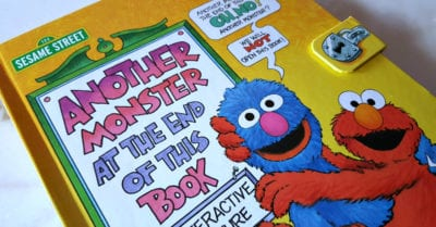 feature sesame street monster book