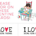 Love Valentine Cards – Free Printables