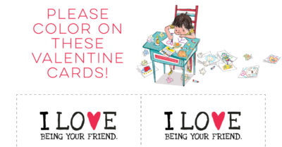 feature love valentine cards