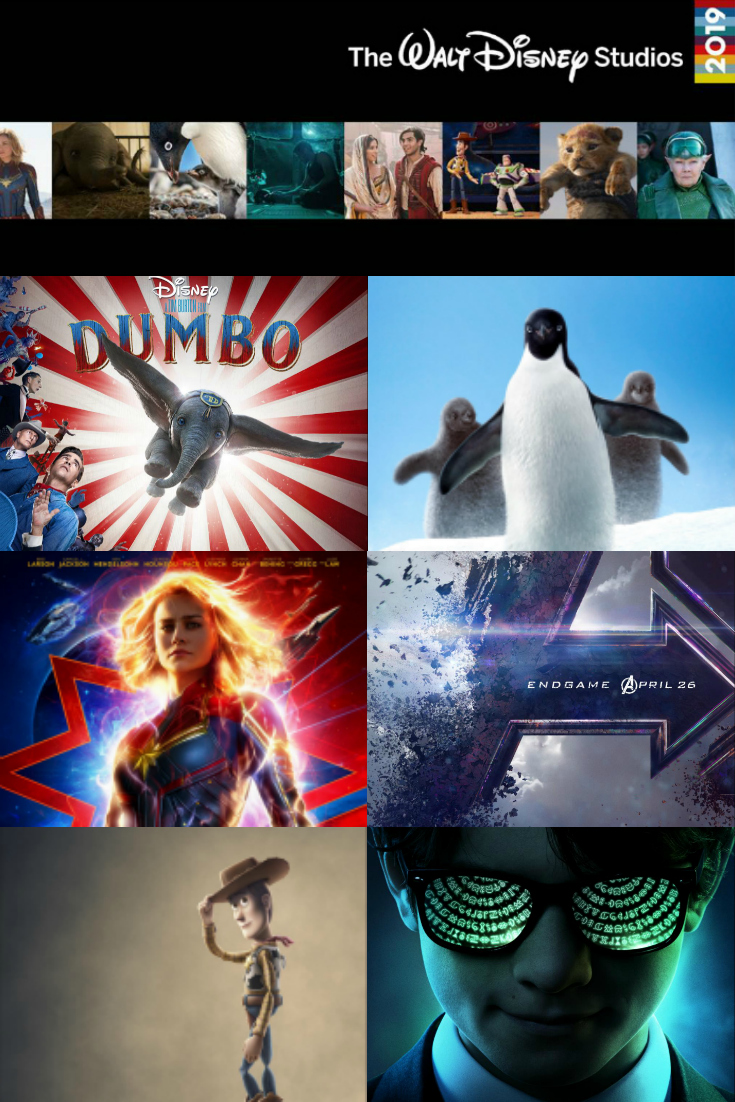 2019 Disney Movies Schedule - Gonna be a Great Year for Walt Disney Studios, Marvel and Disneynature