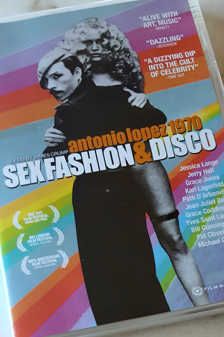 Antonio Lopez 1970 - Sex Fashion and Disco DVD