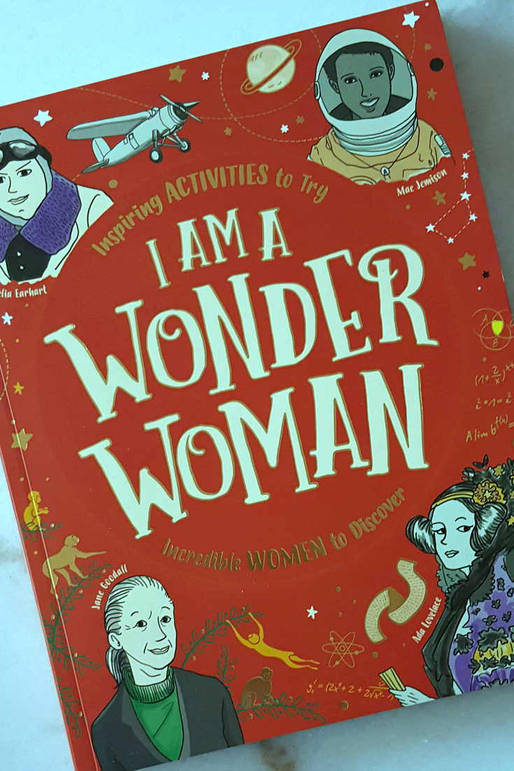 I Am A Wonder Woman by Ellen Bailey - Inspirational and Empowering Book for children ages 9-11