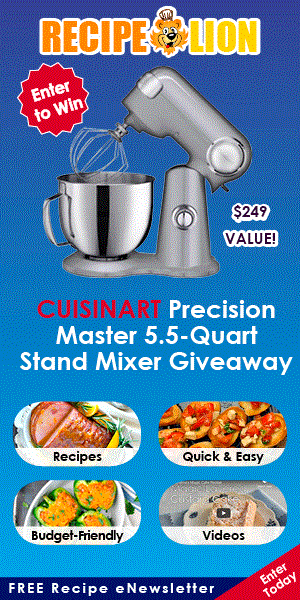 pin cuisinart sweepstakes