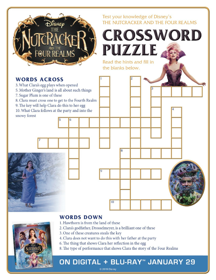 This is a graphic of Printable Movie Crossword Puzzles intended for tv guide
