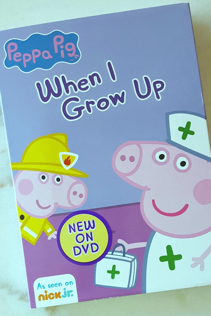 pin peppa pig careers dvd