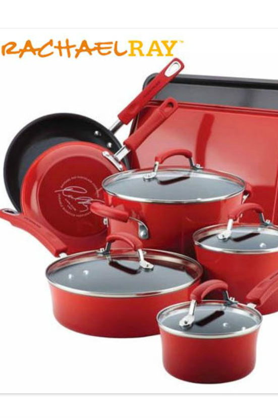pin rachael ray cookware