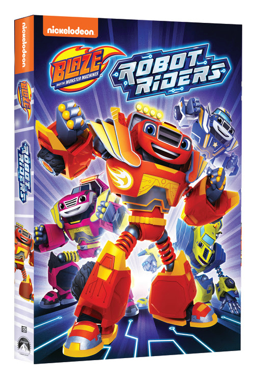 pin robot riders dvd