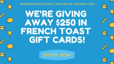 savings french toast gift card giveaway