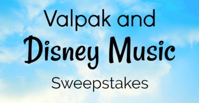 feature disney music sweepstakes