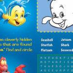 Little Mermaid Activities Page Printable