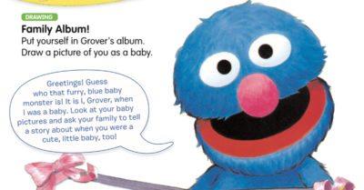 feature sesame street family album