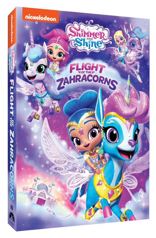 pin Shimmer and Shine Flight of the Zahracorns