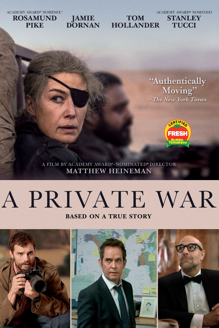 pin a private war poster