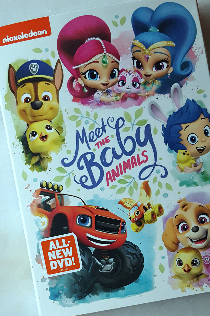 Nickelodeon Meet The Baby Animals DVD - Favorite Nick Jr. Episodes - Paw Patrol, Bubble Guppies, Shimmer and Shine, Blaze and The Monster Machines