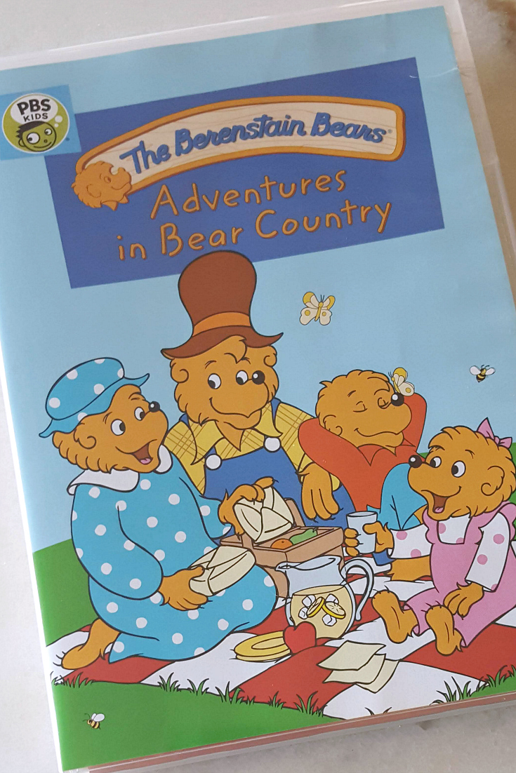 pin berenstain bears adventures
