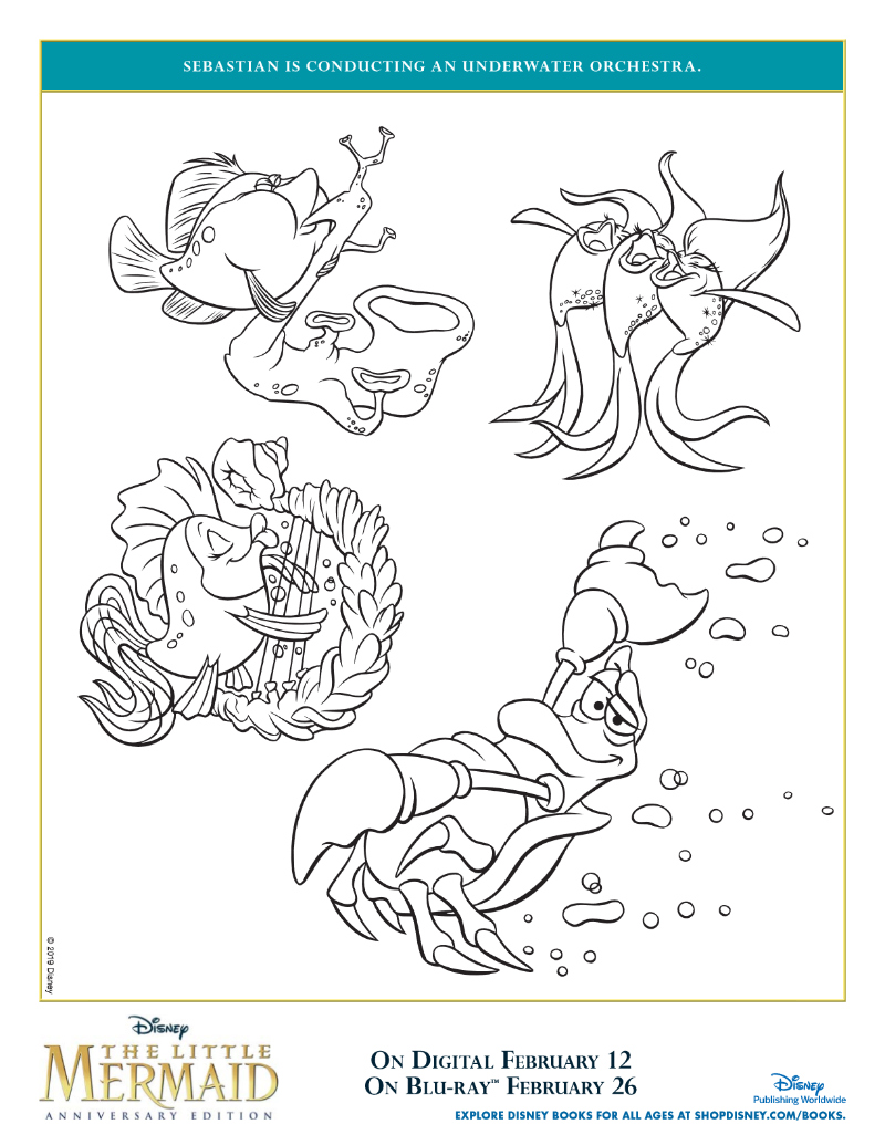 pin little mermaid orchestra
