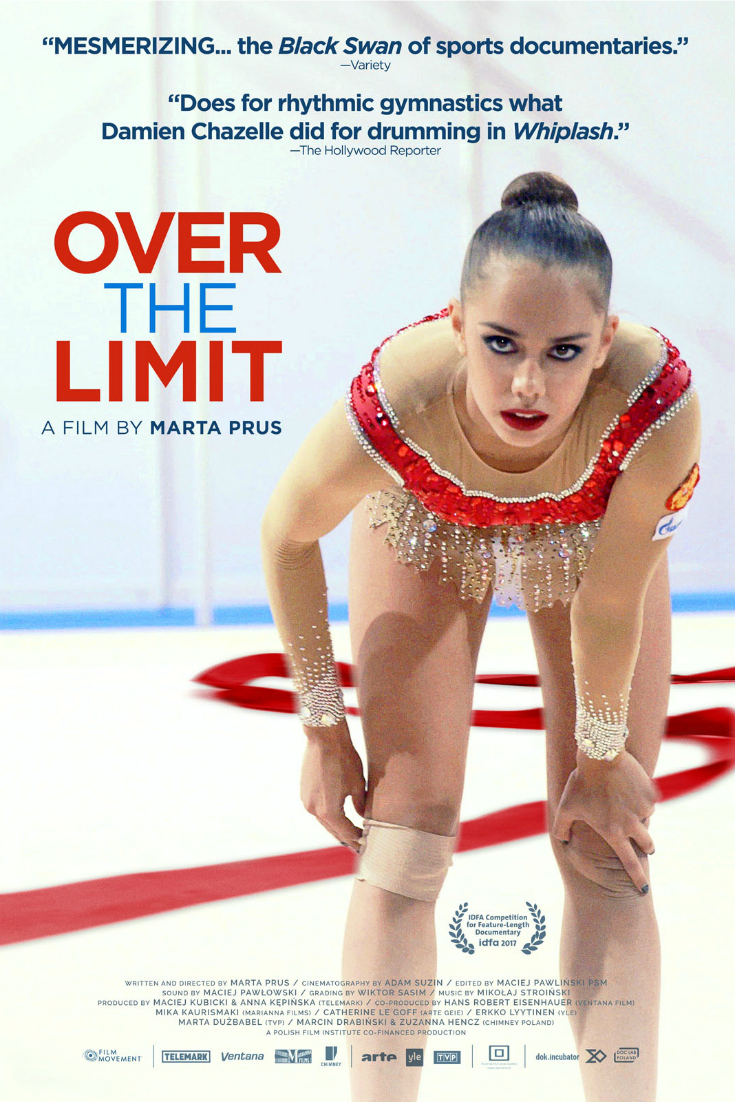 Over The Limit DVD - Sports Documentary about Russian elite rhythmic gymnast Rita Mamun - Olympic Gymnastics