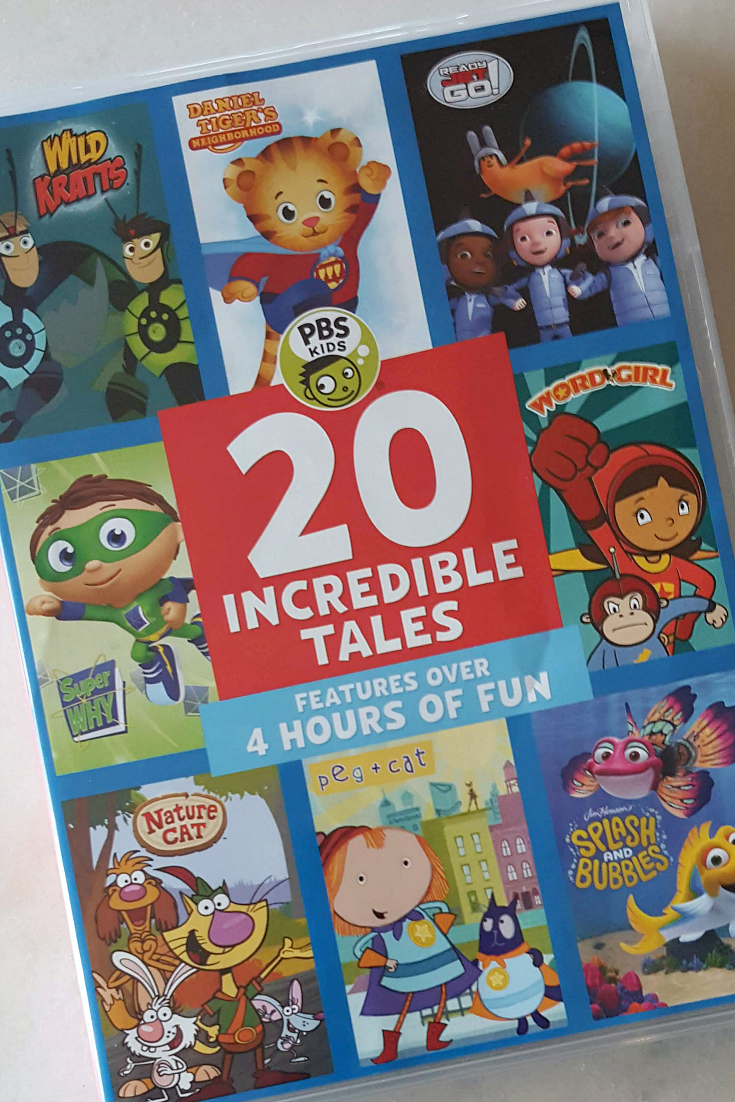 pin pbs kids incredible tales