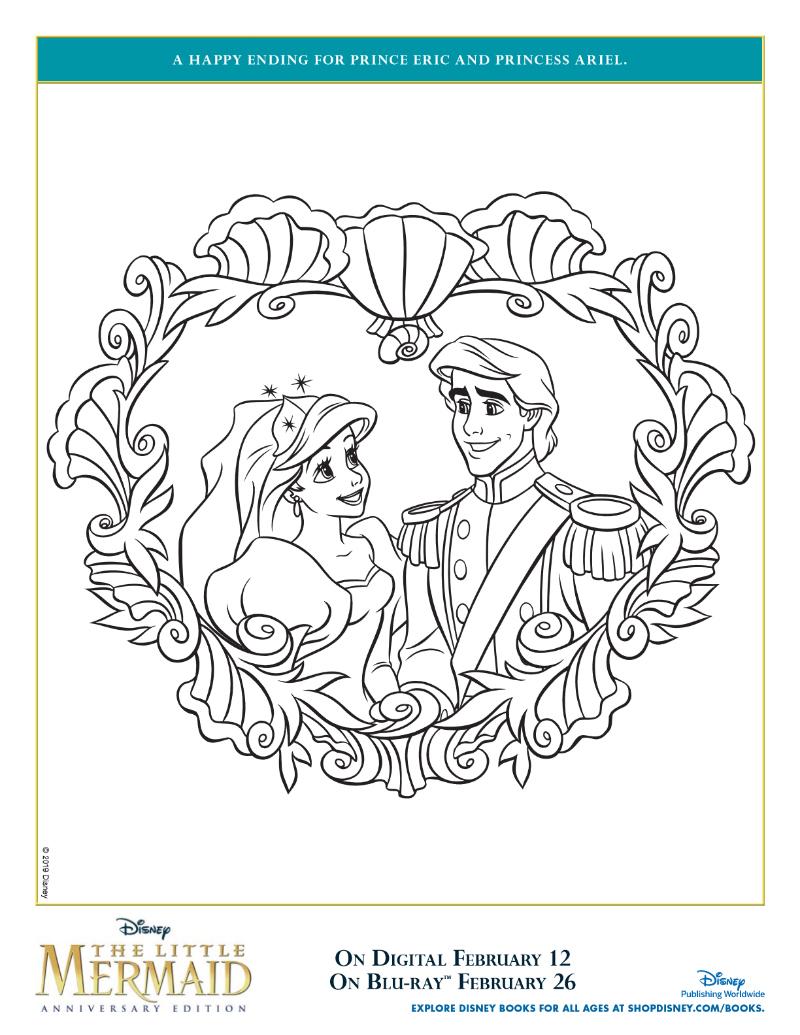 pin princess ariel prince eric