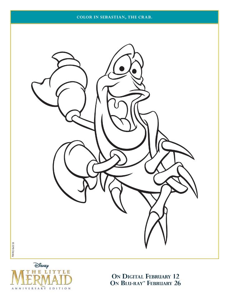 pin sebastian coloring page
