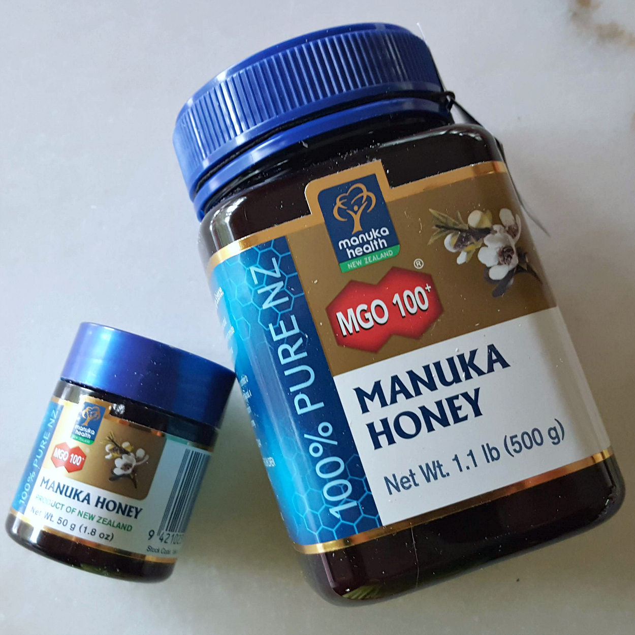 expo west box manuka honey