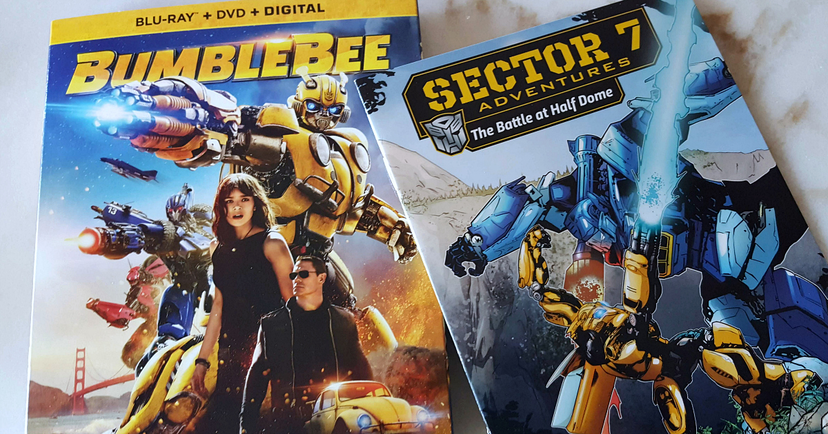 feature bumblebee blu-ray