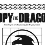 Dragon Art Activity from How To Train Your Dragon 3
