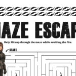 Hiccup Maze from How To Train Your Dragon 3