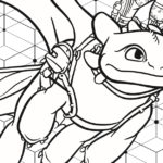 Hidden World Coloring Page from HTTYD3
