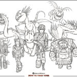 HTTYD Coloring Page – Free Printable Activity