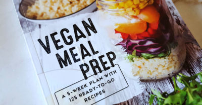 feature vegan meal prep book