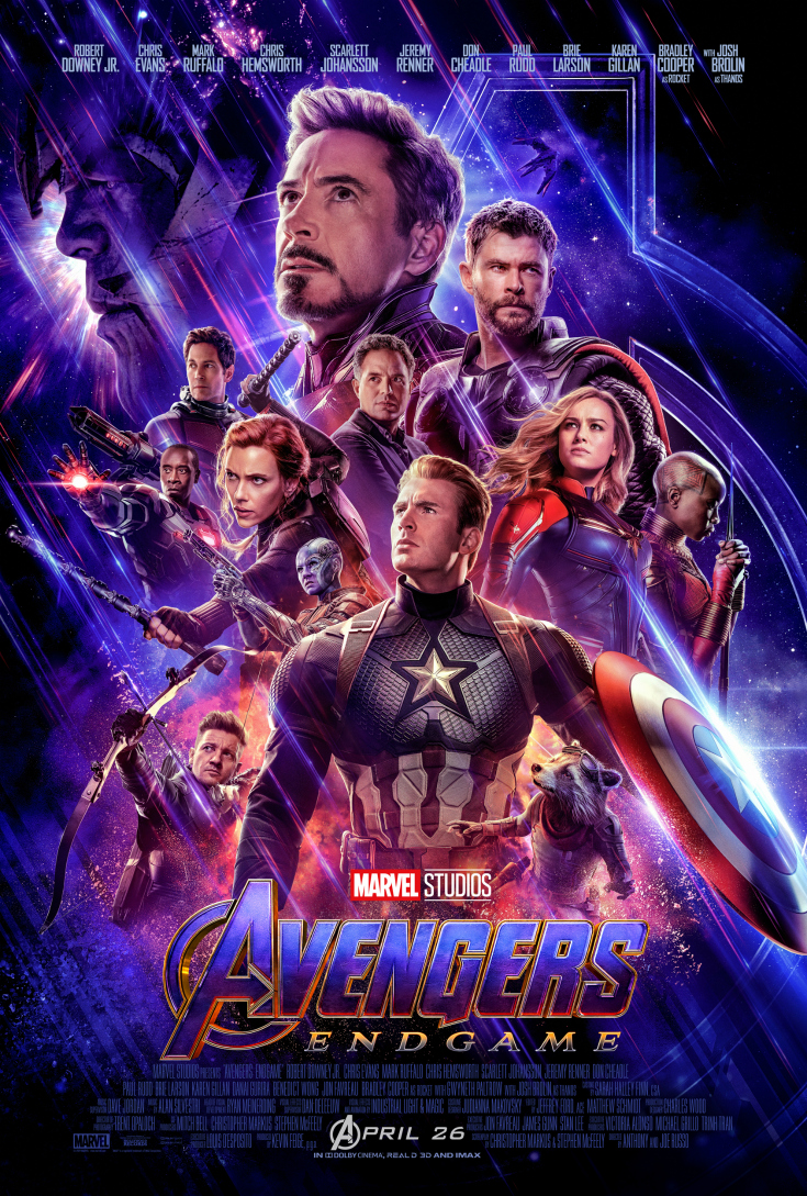 pin avengers endgame trailer and poster