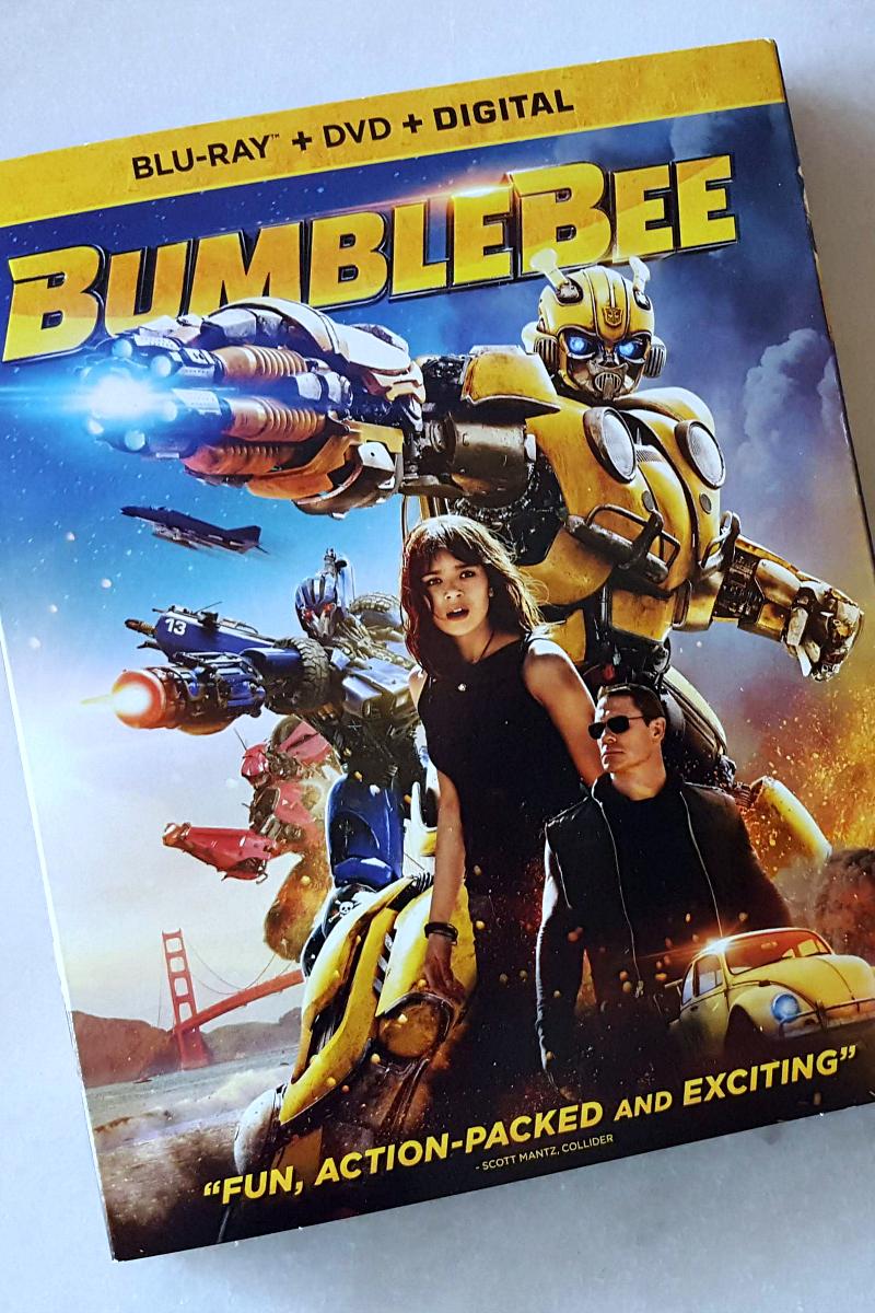pin bumblebee blu-ray dvd