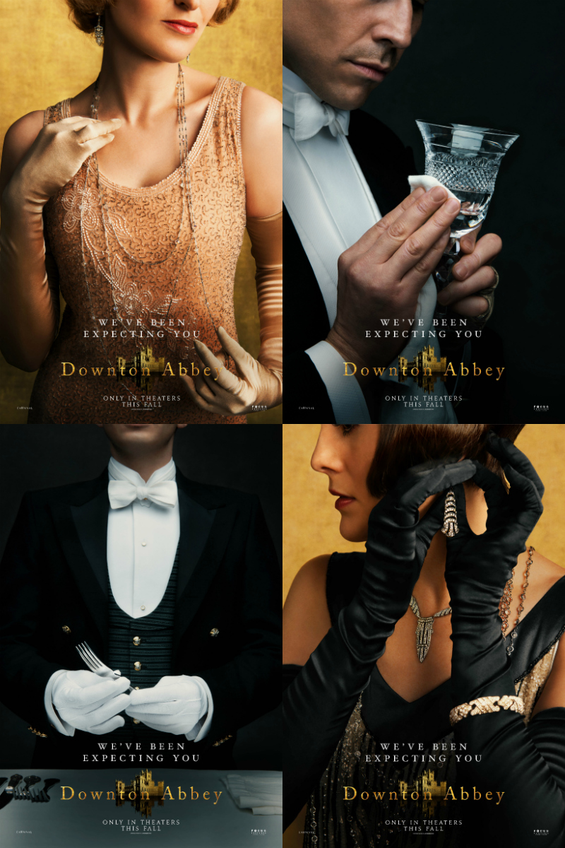 pin downton abbey movie posters