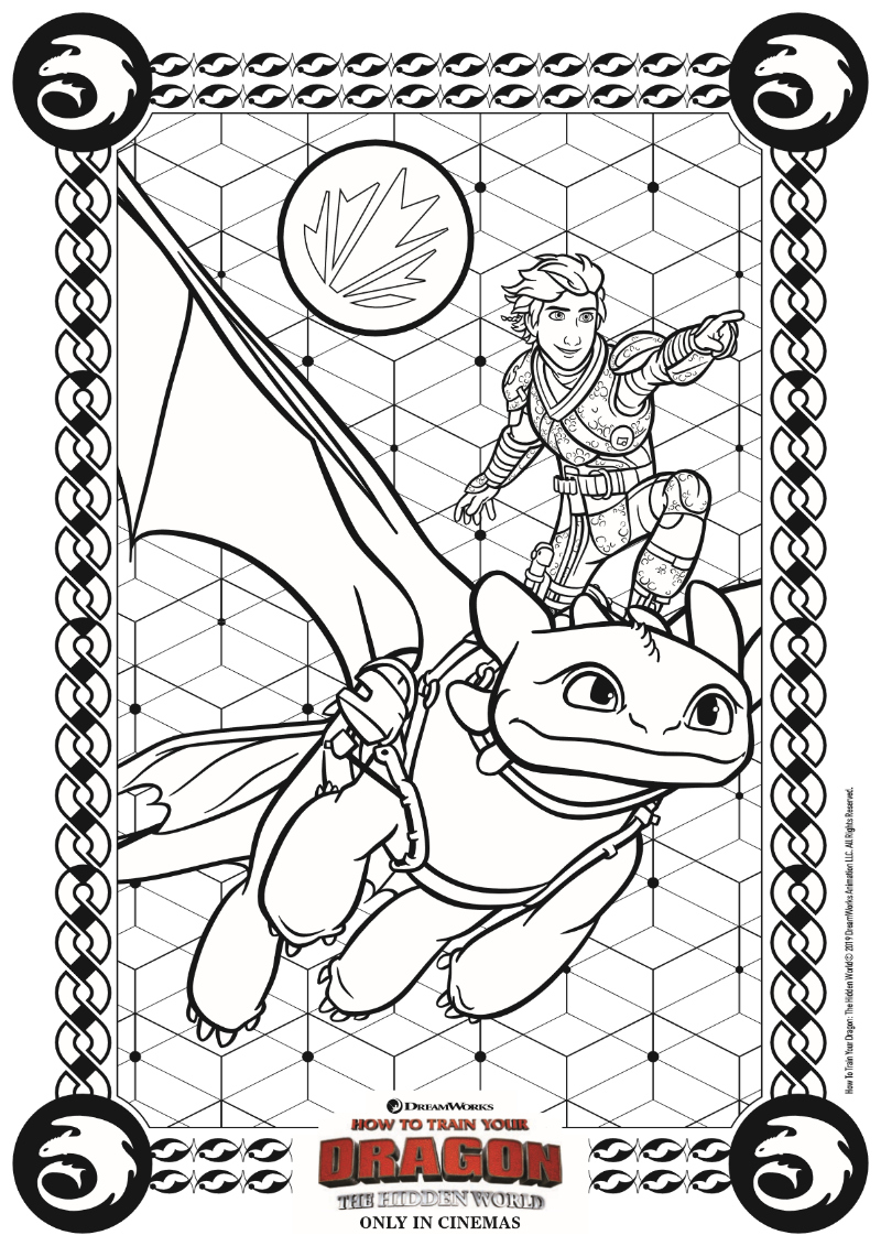 pin hidden world coloring page