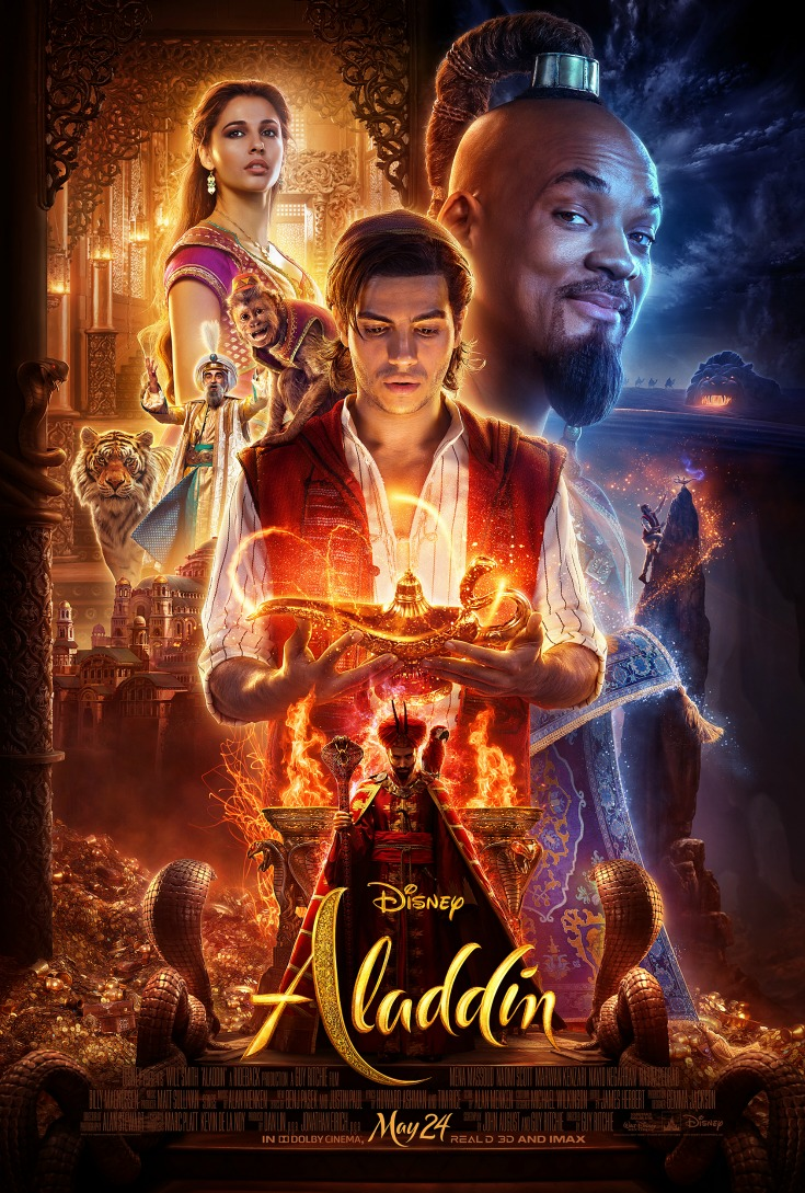 New Disney Live Action Aladdin Official Movie Poster