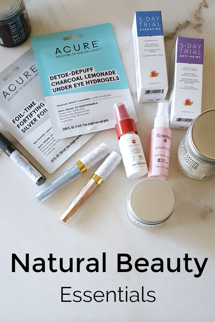 pin natural beauty essentials