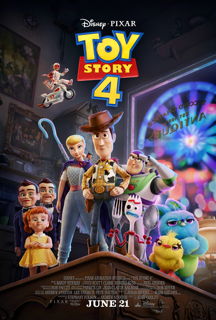 pin toy story 4 poster trailer