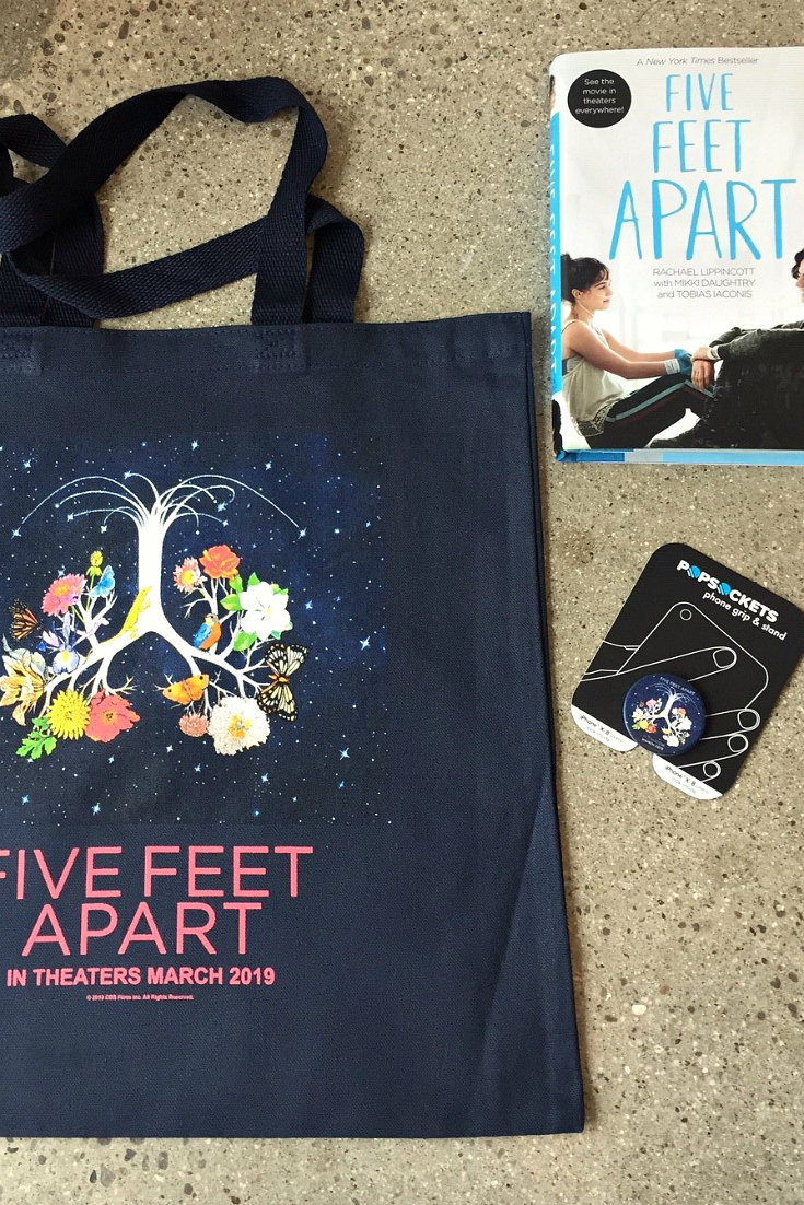 prize package five feet apart