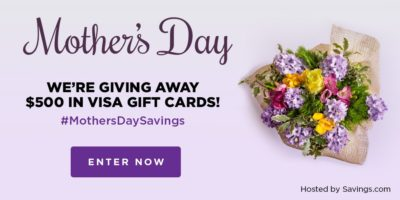 Feature Visa Gift Card Giveaway